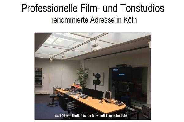 Gewerbefläche Film und Tonstudio